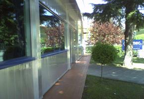 Pulitura vetri esterni azienda